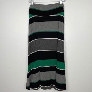 Merona Striped Maxi Skirt Plus Size